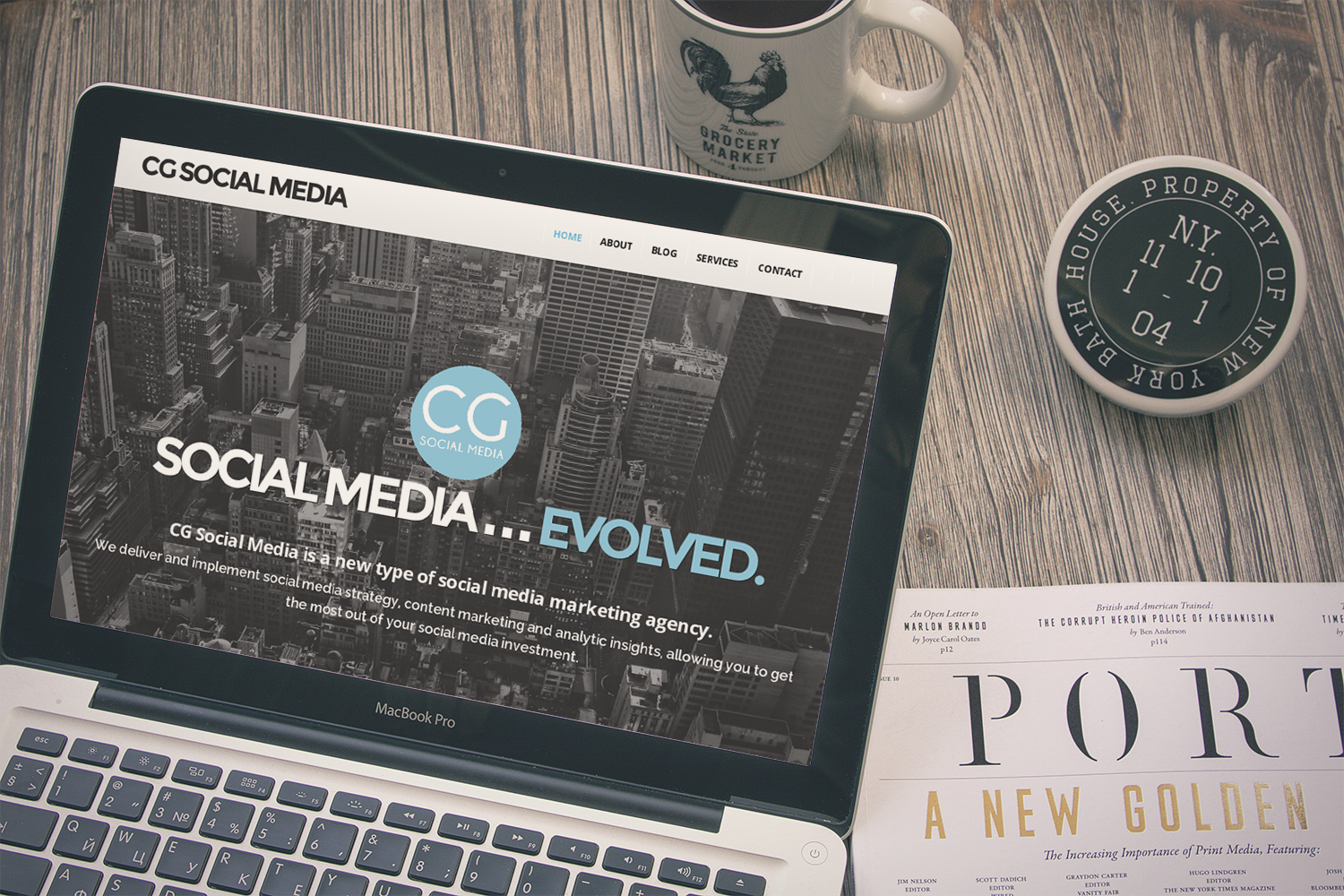 About | CG Social Media, LLC